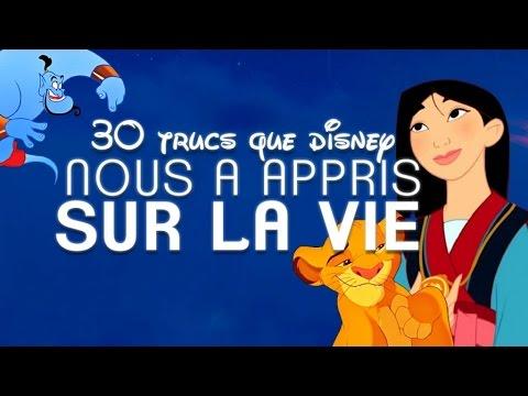 Top 30 des trucs que Disney nous a appris sur la vie (TopitoTV)
