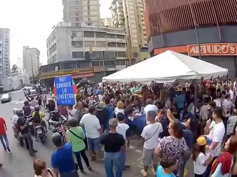 La Candelaria Rebelde. Consulta popular en Venezuela aplicando el  art. 333 y 350 Julio 16 del 2017