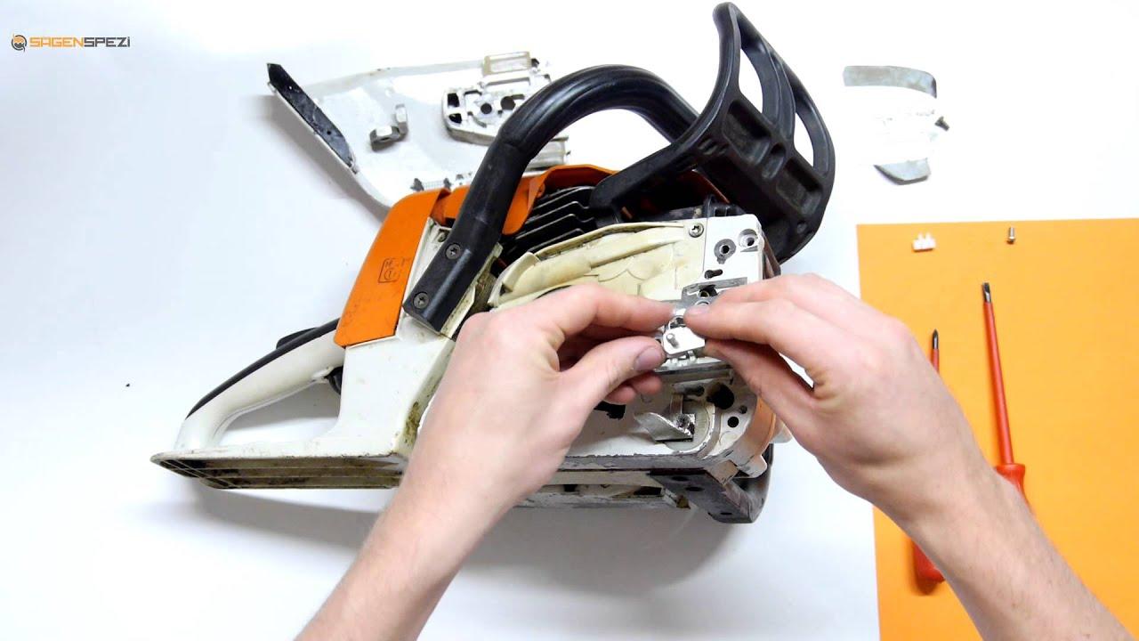 Druckstück passend für Stihl MS171 MS181 MS211 zum Kettenspanner seitlich