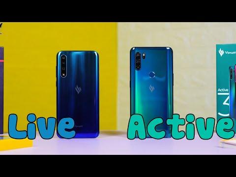 Chọn Vsmart Active 3 hay Vsmart Live?
