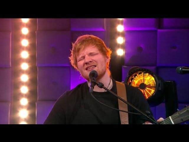 Ed Sheeran - Thinking Out Loud - RTL LATE NIGHT