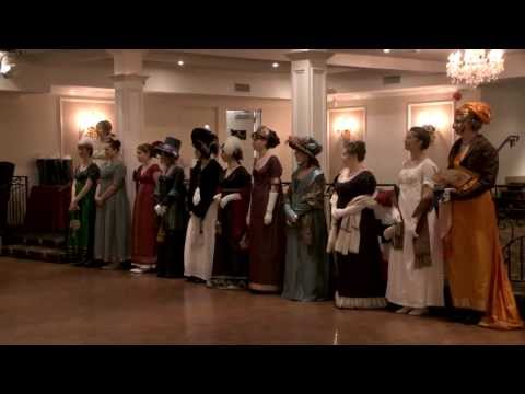Battlefield Bicentennial Ball - Historic Fashion Show - 2013