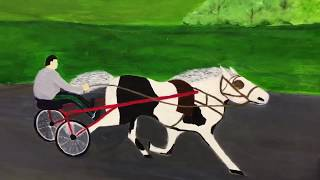 Traveller Horse Race (Sulky) Painting