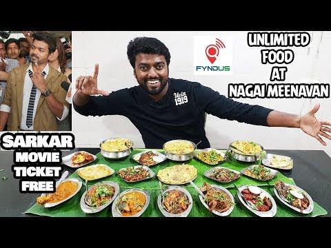 Nagai Meenavan | UNLIMITED NON VEG Ala Carte | Fyndus | Free Sarkar Movie Ticket
