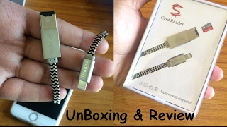 Unboxing And Review of iDragon RC001 Lightning Cable + Memory Card Reader For iPhone & iOs Devices