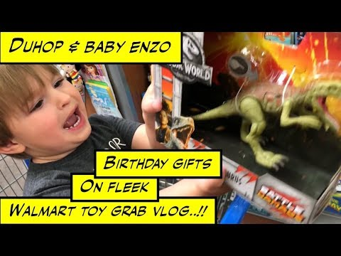 Duhop Birthday Gifts On Fleek Walmart Toy Grab Vlog