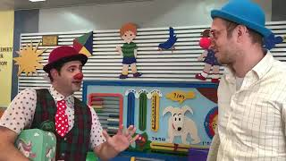 Dream Doctors Project  - a visit from a medical clowns