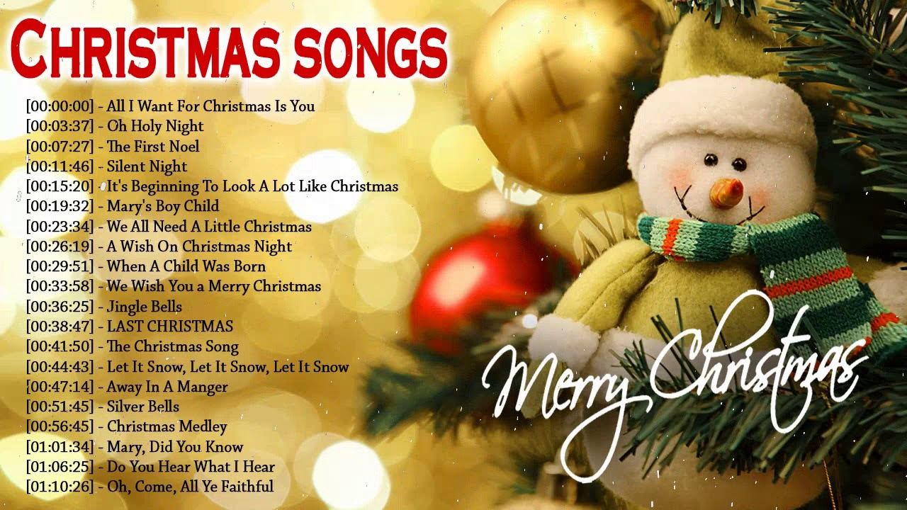Best Christmas Songs 2018 - Top English Christmas Songs Playlist - Most Christmas Songs Ever