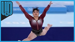 La mexicana terminó en el octavo lugar con una calificación de 14.633 en el clasificatorio individual