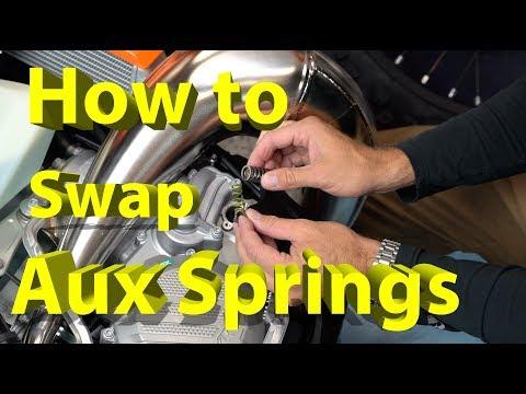 How to Swap Aux Power Valve Springs on KTM Dirt Bikes