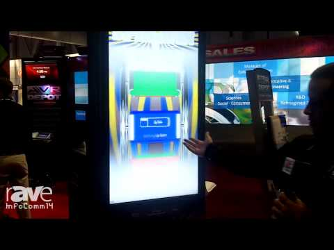 InfoComm 2014: Multi Image Group Demos Its Interactive Totem Kiosk