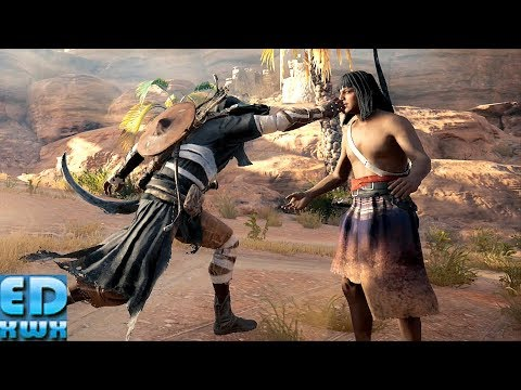 Assassin's Creed Origins  Perfect Stealth Amanai Cave