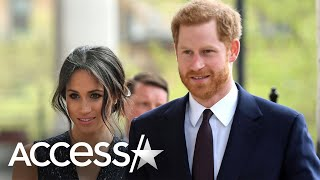 Meghan Markle Introduces Prince Harry In First Public Appearance Since Royal Exit (Report)