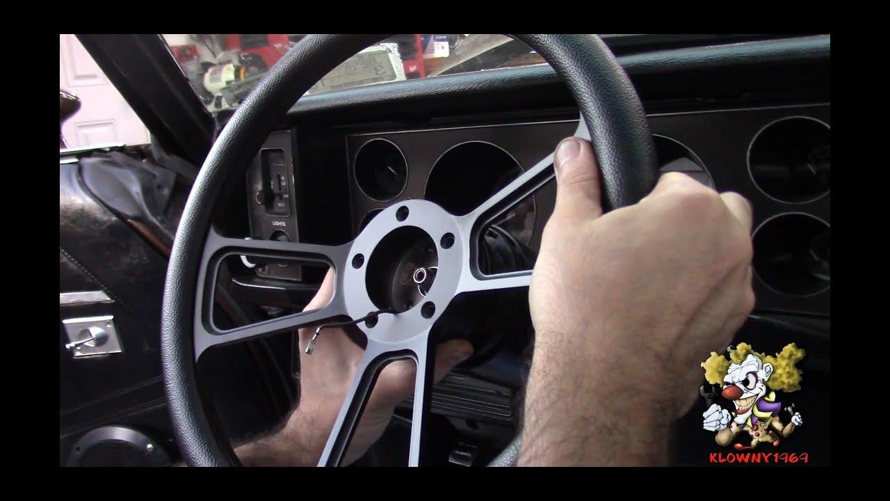 Forever sharp steering wheel install