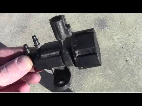 2002 Ford Mustang Fuse Diagram How To Remove Install Egr Vacuum Regulator Youtube