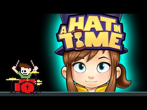 A Hat in Time - Train Rush (Blind Drum Cover) -- The8BitDrummer