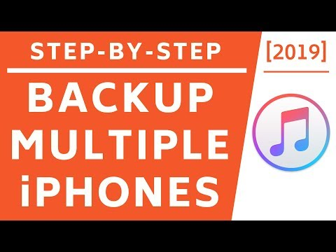 Backup Multiple IPhones To One Computer! [2019] [4K]