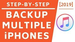 Back-up van meerdere iPhones met één Computer! [2019] [4K]