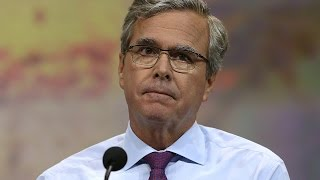 Jeb Bush Was a B-Candidate This Week