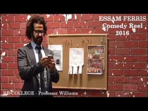 ESSAM FERRIS COMEDY REEL 2016 عصام فارس