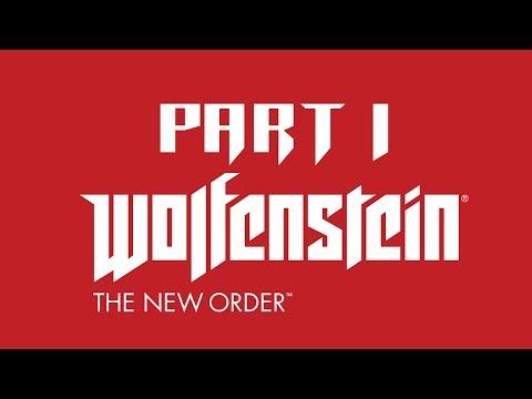 Wolfenstein: The New Order Part 1 PS4 1080P HD