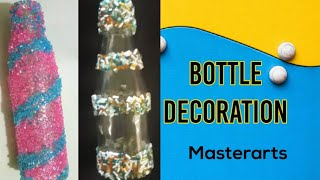 Bottle Art|Bottle Lamp| Wine bottle Craft|Bottle Decoration|Altered Bottle|art and craft|masterarts
