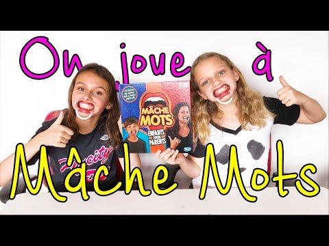 On joue à Mâche Mots / Delarue Sisters - Marine & Eva