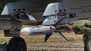 Canadian Air Force CF-18 Ordnance Load & Missile Shoot