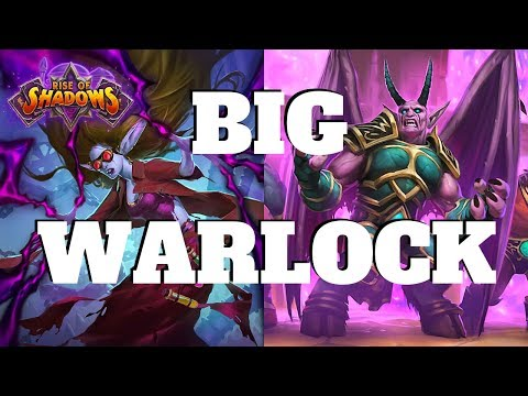 Buffed Dr. Morrigan in Big Warlock! | Rise of Shadows | Hearthstone