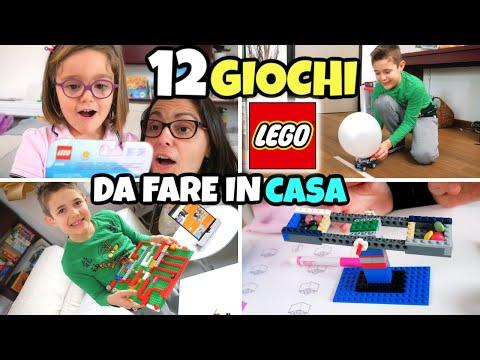 12 GIOCHI LEGO E Attività Da Fare In Casa Con Sorpresa