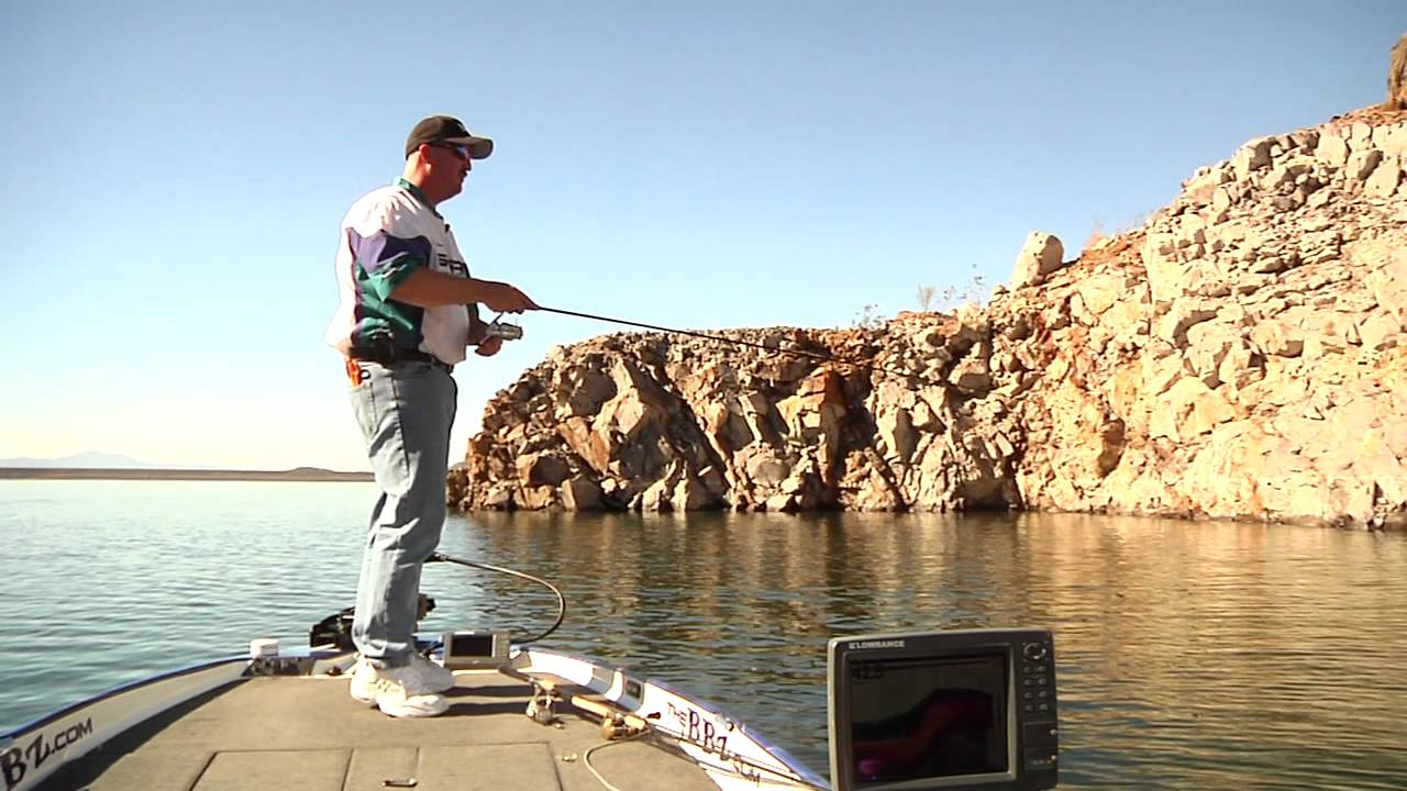How to fish small jigs in deep water diamond valley lake for Lake havasu fishing report