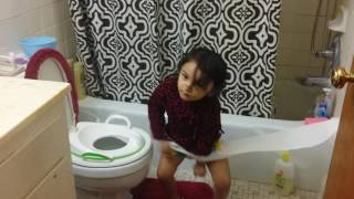 Baby's potty training