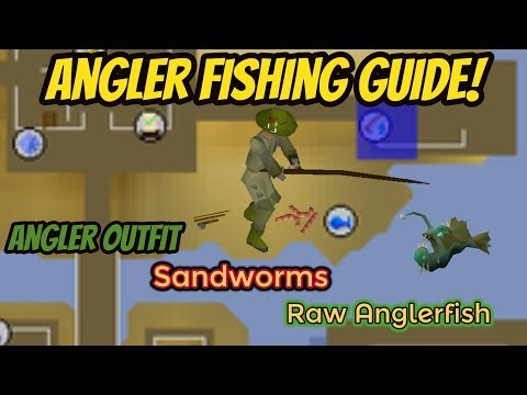 How To Fish Anglerfish On Runescape, AND The Requirements