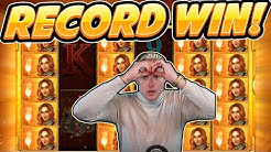 RECORD WIN!! Legacy of Ra BIG WIN with BEST SYMBOL - HUGE WIN from Casinodaddy LIVE Stream