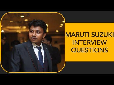 Maruti Suzuki India Ltd. Interview Questions And Tips II