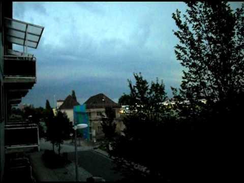 Gewitter Luckenwalde 11.09.11