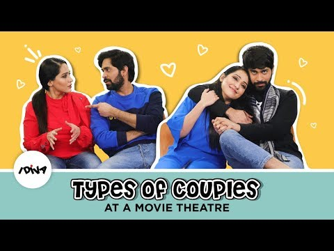 Types Of Couples At A Movie Theatre | Annoying Couples At The Movies Ft. Shibani & Ankush | iDiva