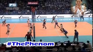 ウィングスパイカー Alyssa Valdez vs F.Jhocson, Sampaloc, Manila 😆