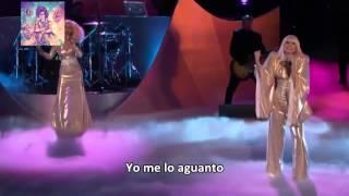 Repeat youtube video Lady Gaga Ft  Christina Aguilera   Do What U Want The Voice Subtitulado Español HD