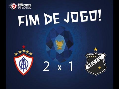 Itabaiana/SE 2x1 ABC/RN - 5ª Rodada - Copa do Nordeste 2017