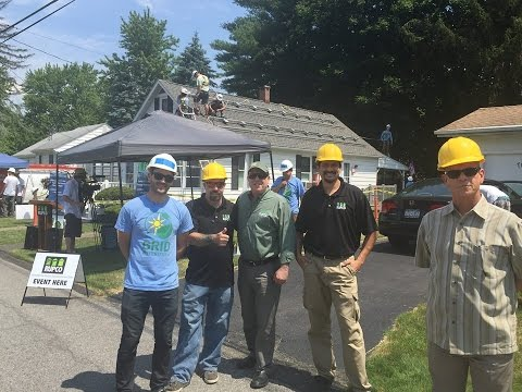 RUPCO, GRID Alternatives First Home Solar Installation in Kingston