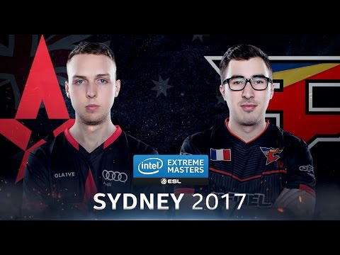 CS:GO - Astralis vs. FaZe [Cbble] Map 1 - Semifinal - IEM Sydney 2017