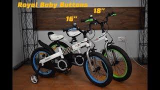 Обзор Детского Велосипеда Royal Baby Buttons на колесах 16 и 18 дюймов.