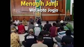 Warga Mrican Menagih Janji Walikota Jogja