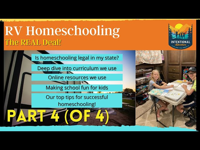 Homeschooling on the Road | Part 4