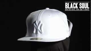 Boné New Era 5950 59Fifty aba reta New York Yankees