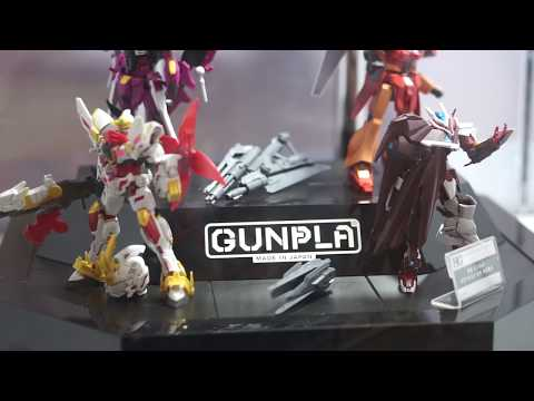 BOTT 2018 Day 2 : Gunpla Exhibition