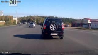 Появилось видео аварии на шоссе Тюнина