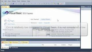 Visual Basic Tutoriel - 1 - Qu'Est-Ce Que Visual Basic
