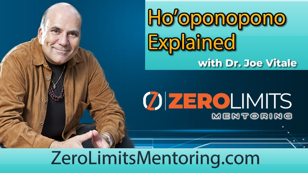 Dr. Joe Vitale - How to use Ho'oponopono - Alert It's Very Important You Know This